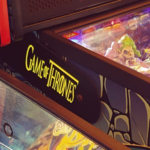 Game of Thrones pinball hinges