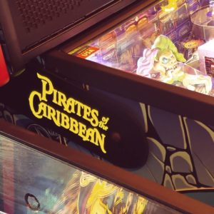 Pirates of the Caribbean pinball hinges