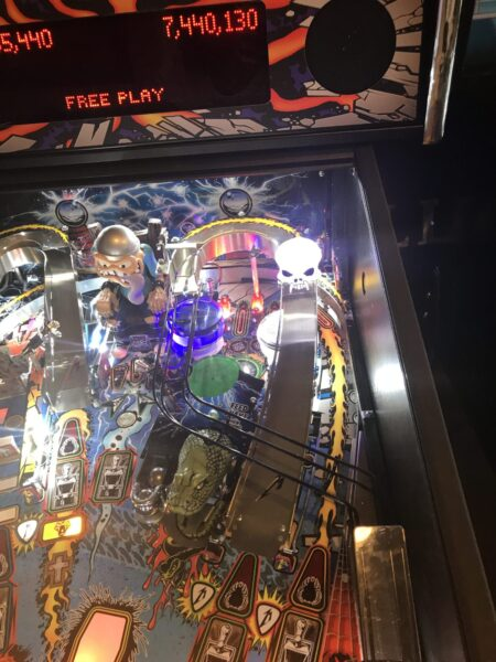Star Wars Pinball Machine >> METALLICA PINBALL BEAST SKULL LED MOD - MET - Lighted ...