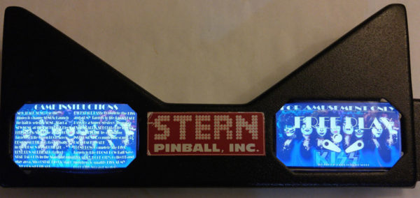 Kiss Pinball EL Panel