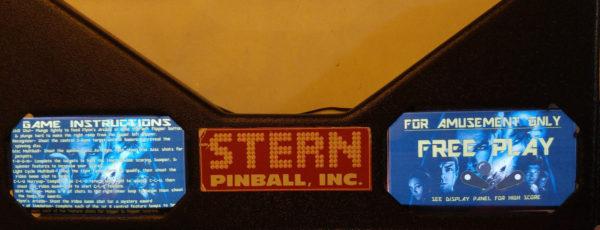 Star Trek Pinball EL Panel