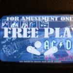 AC/DC Pinball EL Panel