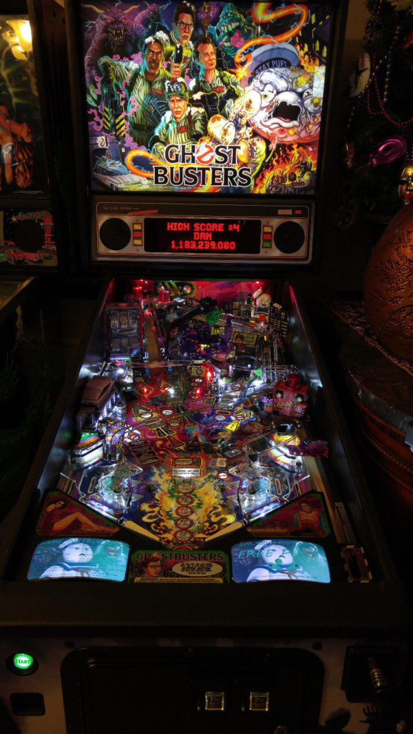 Ghostbusters Pinball EL Panel