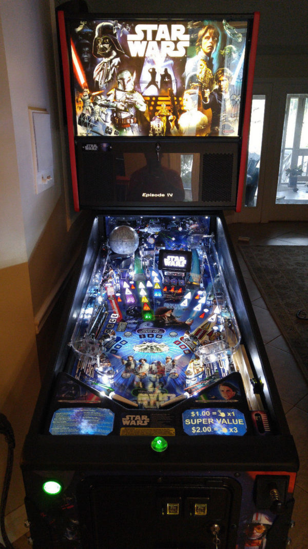 Star Wars Pinball EL Panel