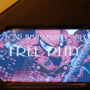 Spiderman Pinball EL Panel