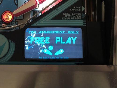Terminator 2 Pinball EL Panel