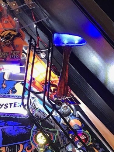 Metallica MET Pinball Machine blue HAMMER LED mod Stern
