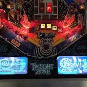 Twilight Zone Pinball EL Panel