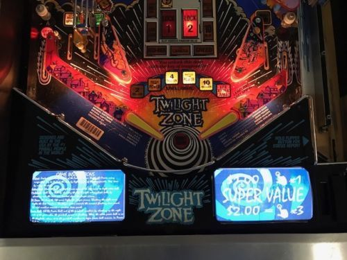 Twilight Zone Pinball EL Panel