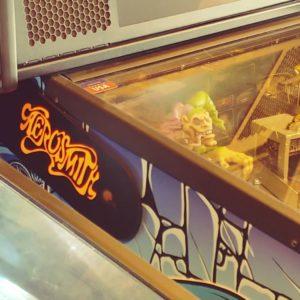 Aerosmith pinball hinges