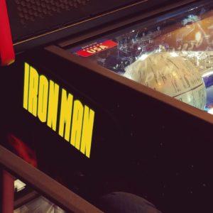 Iron Man pinball hinges