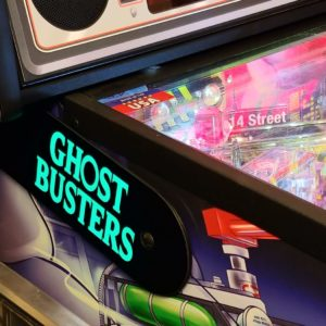 Ghostbusters custom pinball hinges