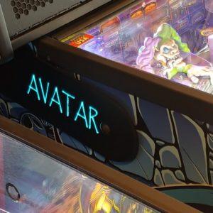 Avatar pinball hinges