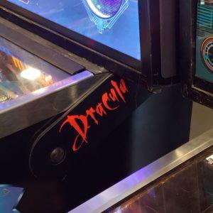 Dracula pinball hinges