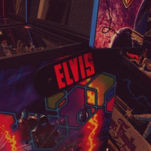 Elvis pinball hinges