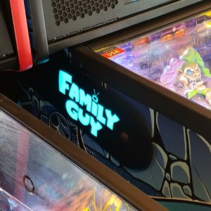 Family Guy custom pinball hinges