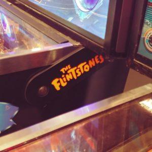 The Flintstones pinball hinges