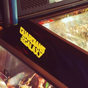 Guardians of the Galaxy custom pinball hinges