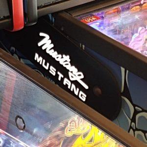 Mustang pinball hinges
