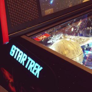 Star Trek pinball hinges