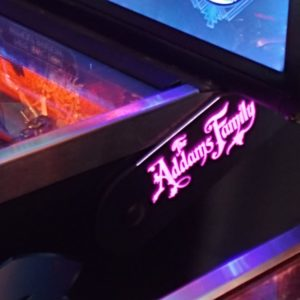 The Addams Family pinball hinges