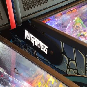Transformers pinball hinges