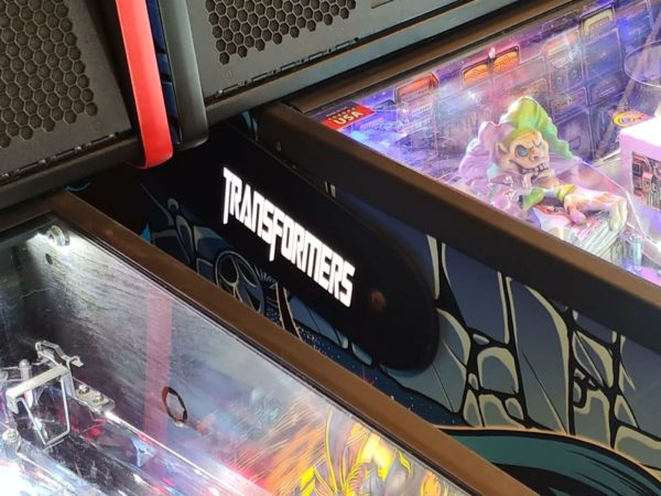 Transformers pinball hinges