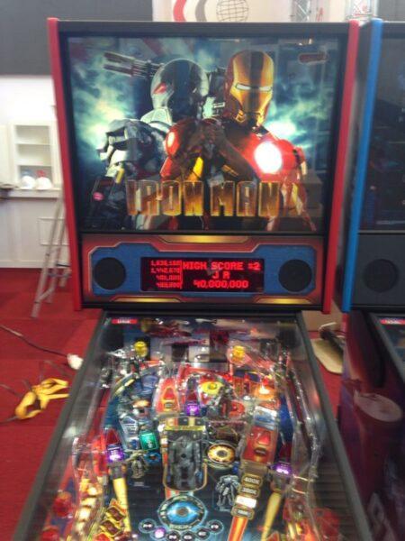 Lighted Speaker Panel for Iron Man Stern Pinball Machine-